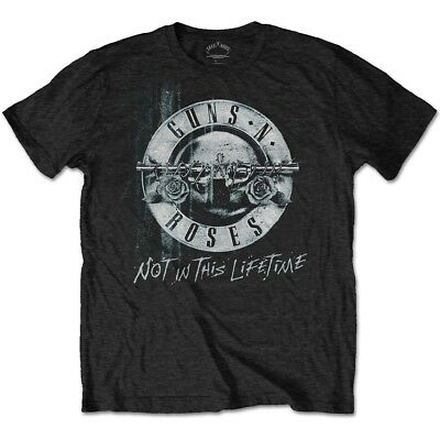 Guns N Roses Once In A Lifetime 2012 Tour Ny Fl T Shirt Small New Official