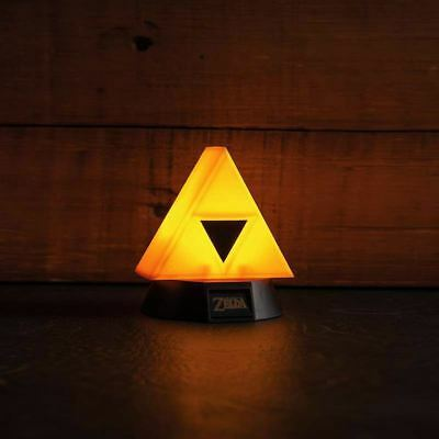 Official The Legend of Zelda 3D Triforce Night Light Mini Lamp - Boxed