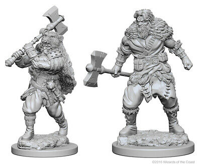 Dungeons & Dragons Nolzur's Marvelous Unpainted Minis: Human Male Barbarian