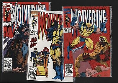 Wolverine #64-66 Nm+ 9.6 Investment Grade Copies Basically Unread For 25 Years!