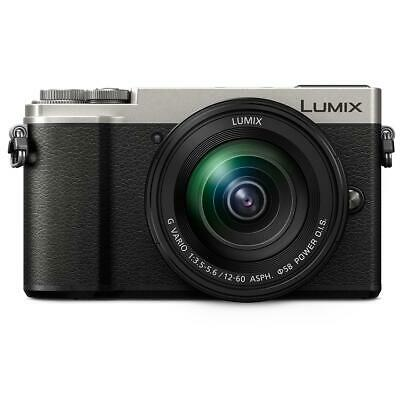 Panasonic Lumix DC-GX9 Mirrorless Camera with 12-60mm Lens, Silver #DC-GX9MS