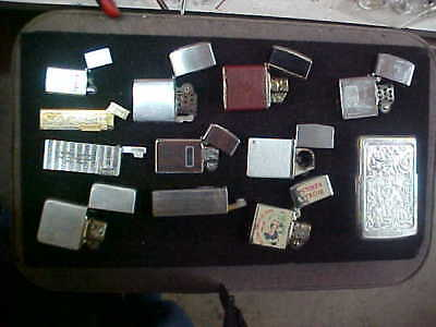 Vintage Collectible Lighter Lot mixed brands