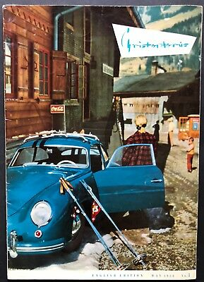 Porsche Christophorus Magazine # 3 May 1956 (English Edition) 356