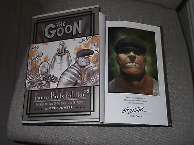 *Signed Limited Edition* ERIC POWELL 'The Goon : Fancy Pants Vol 2 Dr Alloy VGC