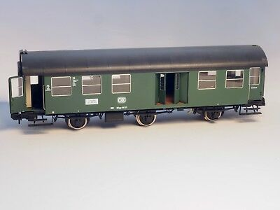 5811 Marklin Scale 1 Passenger Car  2nd class & Baggage, INTERIOR LIGHTS, DB NIB