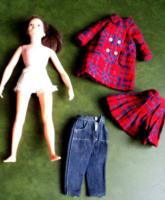 LIBBY  LITTLECHAP DOLL AND CLOTHES  ~~  ALL ONE PRICE !  nice ~~