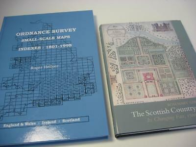 2 books Ordnance survey Map reference & Scottish countryside both very good