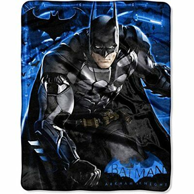 "Batman 'Arkham Jump' Silk Touch Throw / Blanket 40"" x 50"""