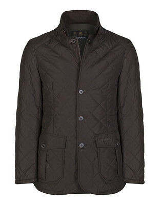Barbour Men's Quilted Lutz Jacket Olive  M Medium