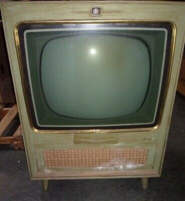 """RCA Victor Deluxe 23"""" TV and Cabinet VINTAGE CLASSIC"""