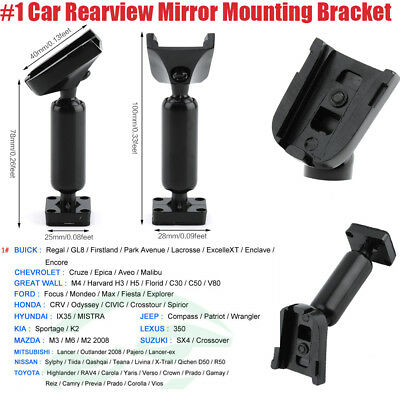#1 Car Rearview Mirror Mounting Bracket For Buick Ford Honad Toyota Chevrolet