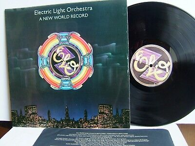 Electric Light Orchestra - A New World Record UAG 30017 UK LP 1st Press 1976 ELO