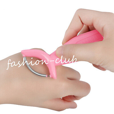 Plastic Handle Facial Hair Remover Epicare Spring Threading Tool Roller Epilator