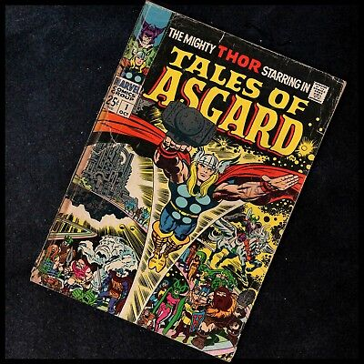 Thor - Tales Of Asgard  #1 -  Marvel - Oct 1968 - 25¢ - Silver Age - Vg- 3.5