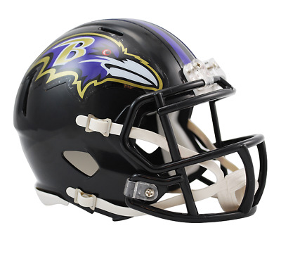 NFL Riddell Football Speed Mini Helm Baltimore Ravens