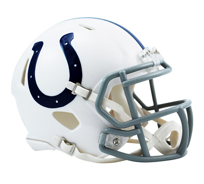 NFL Riddell Football Speed Mini Helm Indianapolis Colts