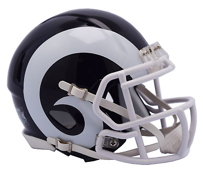 NFL Riddell Football Speed Mini Helm Los Angeles Rams