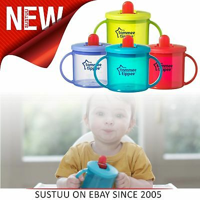 Tommee Tippee Essentials Leak-Proof Spout First Cup│Assorted Colors│BPA Free│4m+