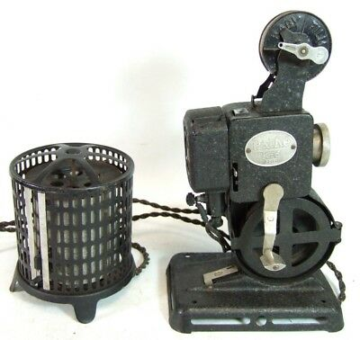 9.5mm PATHE KID PB EX cine movie PROJECTOR with transformer - untested