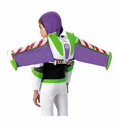 Buzz Lightyear Toy Story Disney Pixar Boys Costume Inflatable Jet Pack Wings