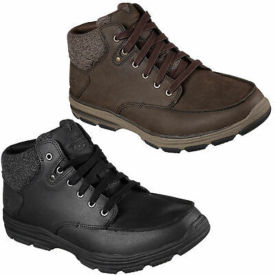 Mens Skechers Garton Meleno Lace Up Chukka Memory Foam Ankle Boots Sizes 7 To 13 44 99 Picclick Uk