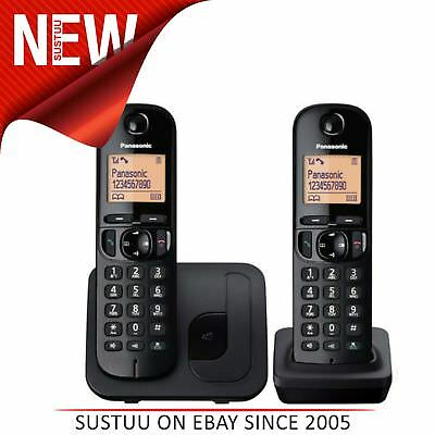 Panasonic Digital Cordless Telephone with Nuisance Call Block - Twin