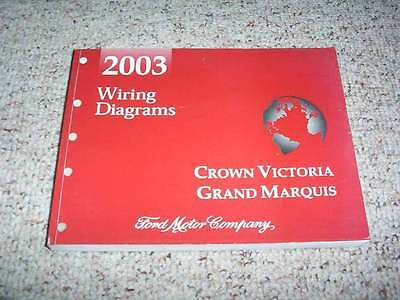 2003 mercury grand marquis electrical wiring diagram manual gs ls 4 6l v8