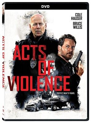 ACTS OF VIOLENCE New Sealed DVD Bruce Willis
