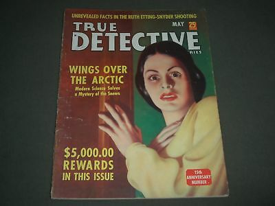 1939 May True Detective Mysteries Magazine - 15Th Anniversary Number - Sp 8114