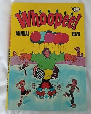 COMIC Whoopee! Annual 1978 - Hardback. Excellent condition