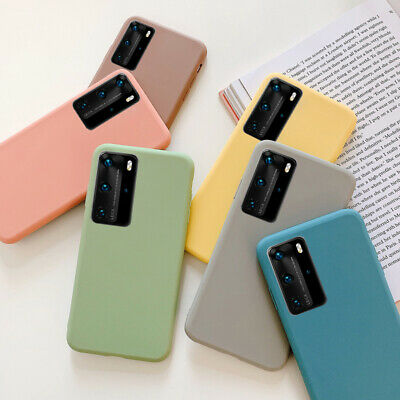 Luxury Slim Shockproof Soft Silicone Rubber TPU Cover For Huawei Phone Back Case