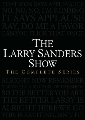 THE LARRY SANDERS SHOW COMPLETE SERIES New 17 DVD Set Seasons 1-6 1 2 3 4 5 6