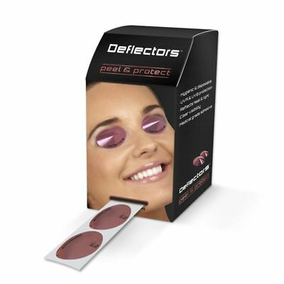 Deflectors Disposable SunBed Solarium Tanning Eye Protection Cone/Shield Goggles