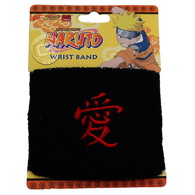 Naruto Gaara Symbol Love Kanji Wristband Sweatband New Official Licensed New Tag