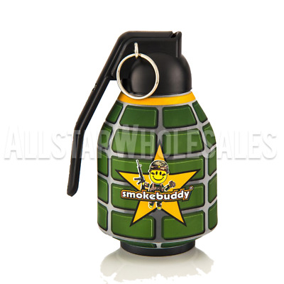 Smoke Buddy Personal Air Purifier Cleaner Filter Removes Odor - Grenade Original