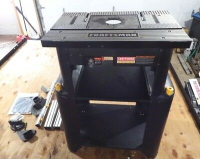 craftsman professional router table and stand - $279.00 | picclick