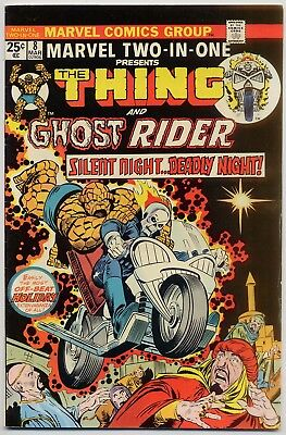 Marvel Two-In-One 8 VG/FN 5.0 The Thing and early Ghost Rider appearance 1975