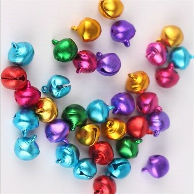 5o large Jingle Multicolor bells Decoration Party Jewelry kids