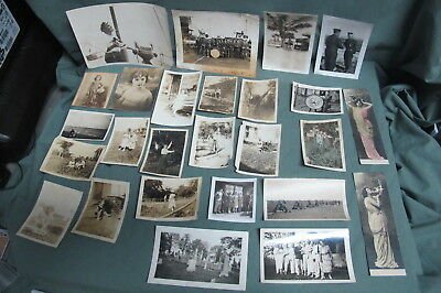 Vintage lot of 26 photos  LOOK