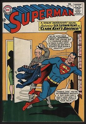 Superman #175 Feb 1965 Full Length Story Classic Curt Swan Art Off White Pages