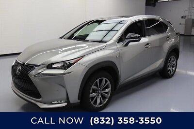 Lexus NX F SPORT 4dr Crossover Texas Direct Auto 2015 F SPORT 4dr Crossover Used Turbo 2L I4 16V Automatic FWD