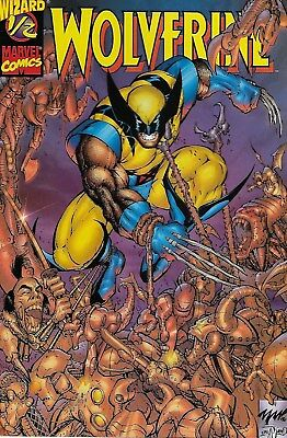 Wolverine No.1/2 / 1997 Limited Wizard Edition with Certificate