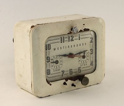 Vintage Westinghouse Model Tc-81 Range Timer - Works - Rn246