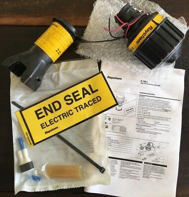 Pentair Raychem E-100-L2-A Lighted End Seal Kit 478767-000