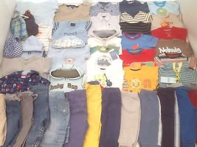 Baby Boys Clothes Bundle 6-9 months Spring Collection LOTS OF PICTURES
