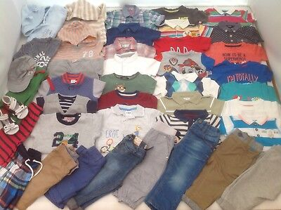 Baby Boys Clothes Bundle 9-12 months Spring Collection LOTS OF PICTURES