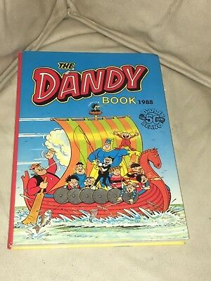 "Vintage "" The Dandy Annual "" Book Dated 1988 Unclipped 50Th Anniversary"