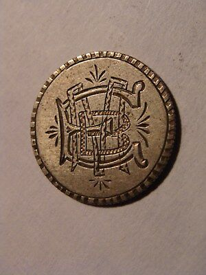 "* Seated Liberty 10c Love Token - ""E B M"" !"