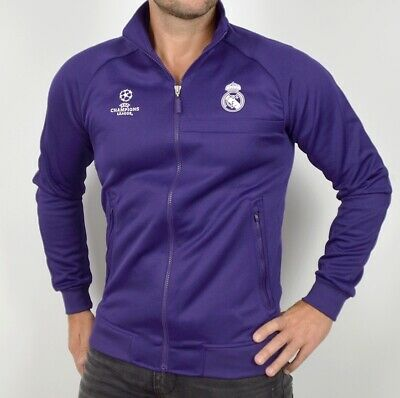 Adidas Real Madrid Herren Trainingsjacke Champions League Tracktop Fußball Jacke
