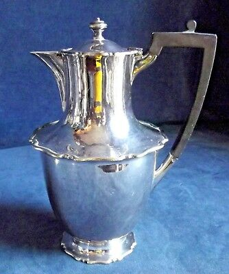SUPERB Bulbous ~ SILVER Plated ~ Water / Wine JUG ~ c1900 by Atkins